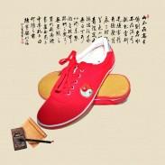 正宗红色奥之武太极鞋 帆布太极鞋 太极练功鞋 少量供货大量实物图片【推荐】