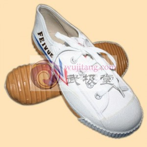 【已下架】正品 经典 上海大博文鞋 武术鞋 帆布鞋(推荐) TMAS Wushu Shoes (White Feiyue Brand)