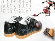 中华太极黑色牛皮太极鞋 太极练功鞋新品上市会员特惠商品