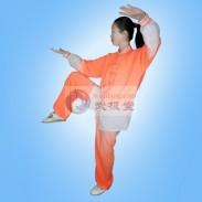 琥珀橘 麻纱 渐变 太极服 太极服装 (停产下架)