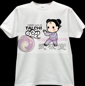 2012新款武极堂品牌白色【手挥琵琶】T恤衫主题展示【已下架】