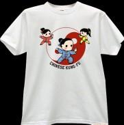 2012新款武极堂品牌白色太极拳【太极人生】主题T恤衫001展示【已下架】