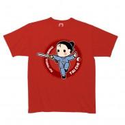 2012新款武极堂品牌红色太极剑【御剑探海2】主题T恤衫展示【已下架】