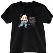2012新款武极堂品牌黑色功夫男孩【如封似闭】主题T恤衫主题展示【已下架】
