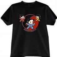 2012新款武极堂品牌黑色太极拳【太极人生】主题T恤衫001展示【已下架】