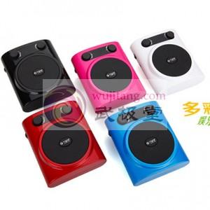 升级版太极拳教学音乐扩音器MP3 带液晶显示屏(支持SD及U盘播放加FM功能)新品推荐送4G SD卡、读卡器