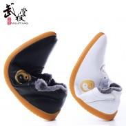 新款冬季太极鞋 真皮太极棉鞋 冬款进口软牛皮 牛筋底 金太极冬季版 男女款 武极堂出品