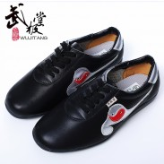 畅销8年武极堂 牛皮 太极鞋 太极练功鞋 武术鞋牛筋底 银长箭款