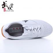 【已下架】经典黑武字太极鞋 武术鞋 薄底超纤 透气款010