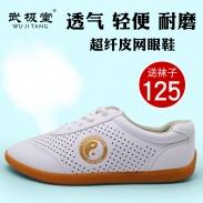 夏季太极鞋 夏天太极鞋 练功鞋 太极拳鞋 牛筋底 创新设计 金太极夏季版